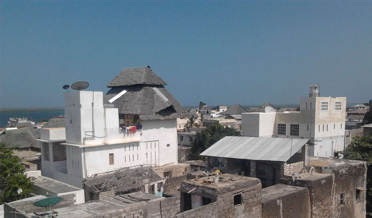 Lamu Island's Yellow House