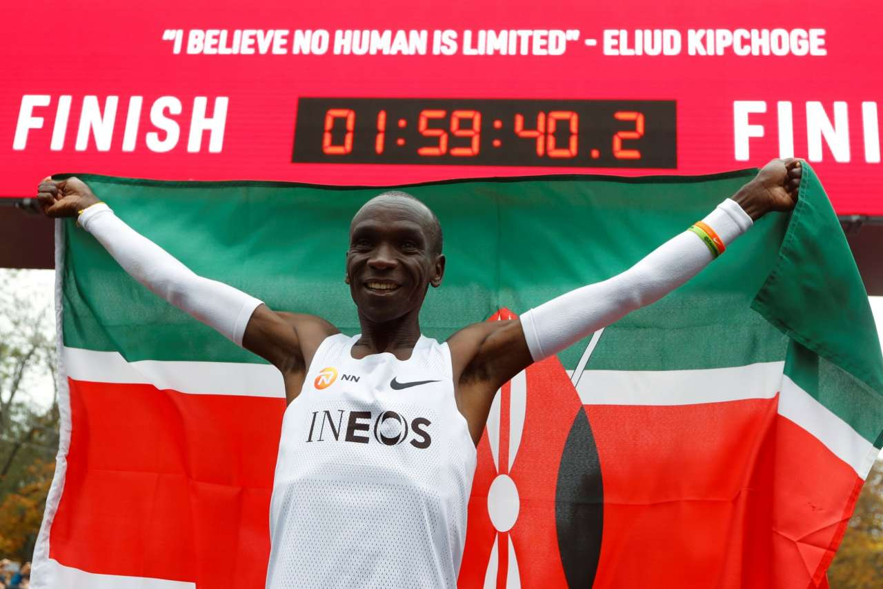 Following in the Footsteps of Eliud Kipchoge